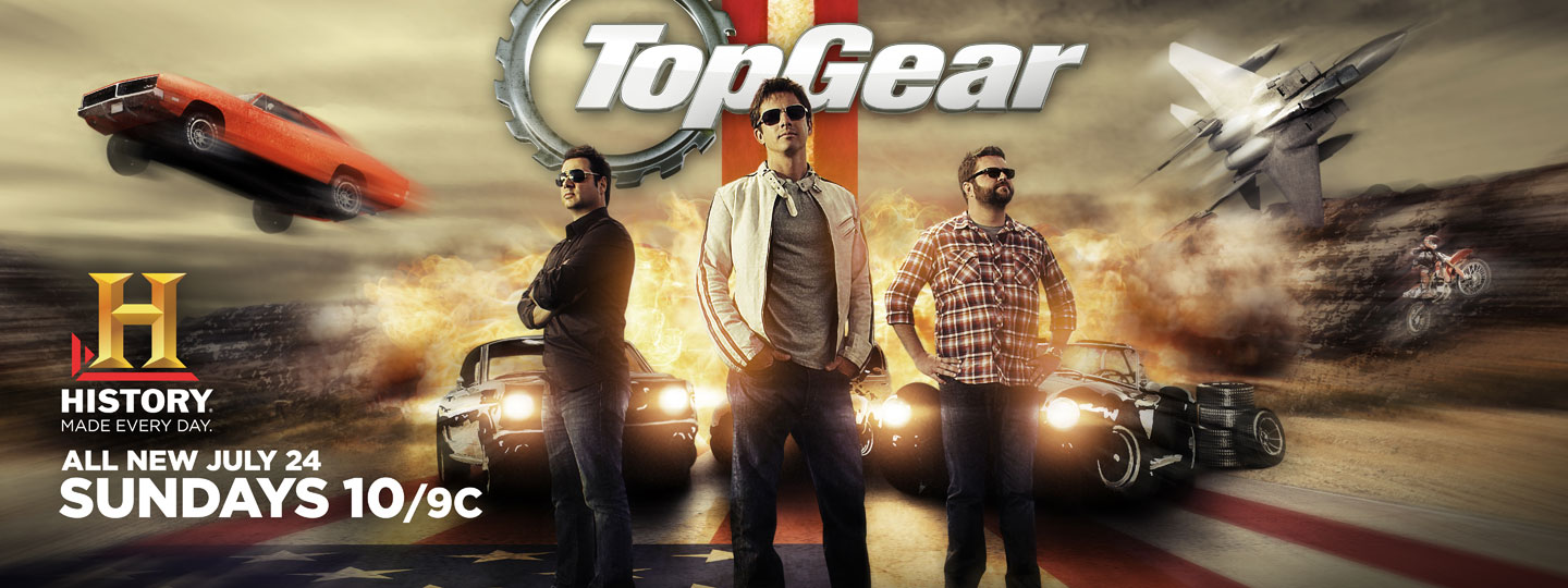 Salem Jones Top Gear Print Key Art Design