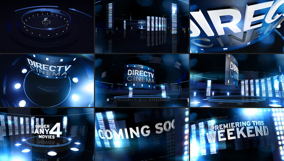 Salem Jones DIRECTV Rebrand Motion Graphics Design
