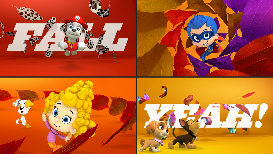Salem Jones Nick Jr Kids Show Promo Graphics