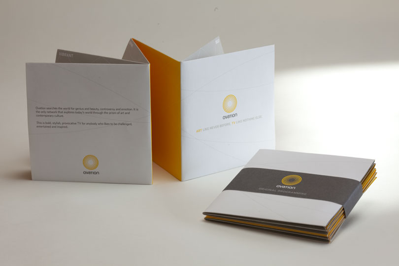 Salem Jones Ovation Promo Print Packaging Design